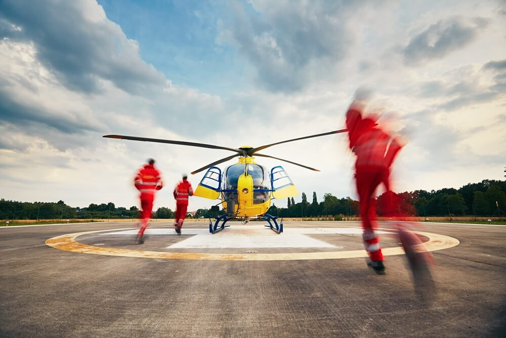 Comprehensive Air Medical Transport Services & Patient Care Also Available.